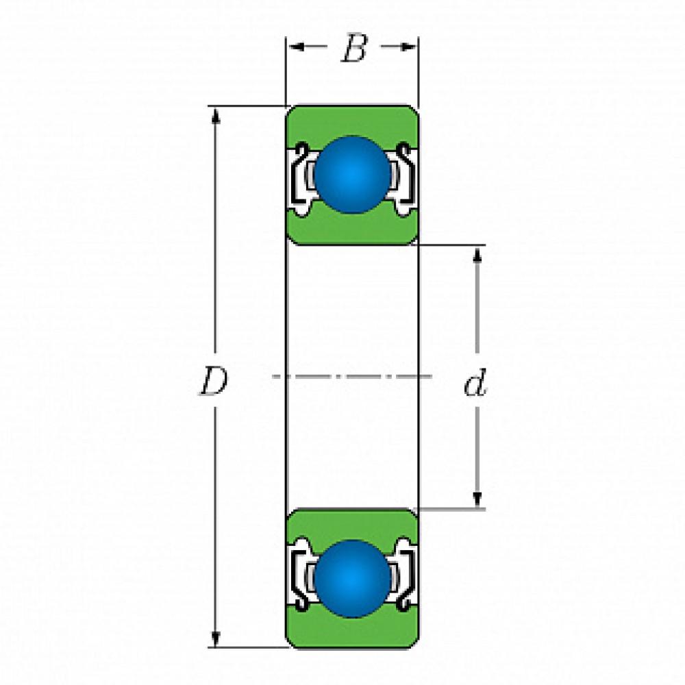 Подшипник 685 HZZMC3NS7L ( 1080085 ) ISC