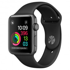 Смарт-часы Apple Watch S2 Sport 38mm Sp.Grey Al/Black (MP0D2RU/A)